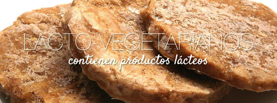 Lacto-Vegetarianos (contienen productos lácteos)