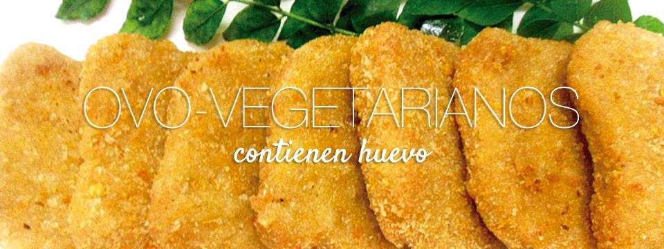 Ovo-Vegetarianos (contienen huevo)