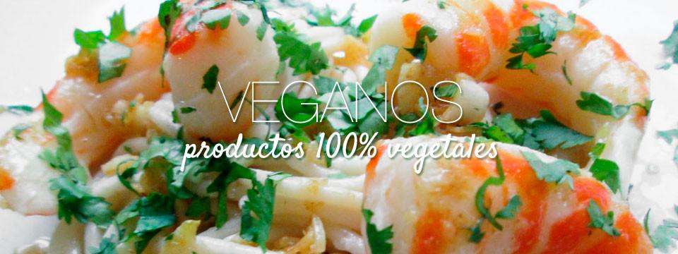 Veganos (productos 100% vegetales)