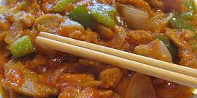 Carne vegetal agridulce VSAN
