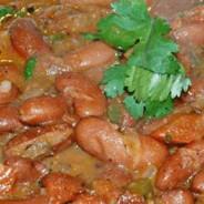 Masala Rajma (Curry de frijoles rojos)