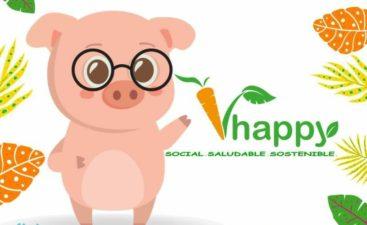logo v happy