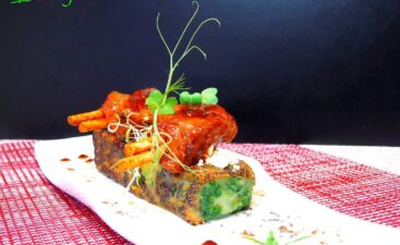 Lingote de Trinxat de col kale, patatas y costillas veganas -twoveganboy